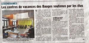 Assemblée Générale VLP Bauges - Avril 2014